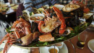 Pickle Bill's Shellfish Platter
